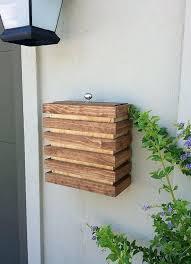 mailbox wall mount case modern mailbox wall mounted wood contemporary modern mid century gibraltar delegance wall mount mailbox