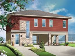 Piling and stilt home heights typically range from a few feet above ground to as much as 10 to 20 feet or more in coastal, hurricane and flood plain areas. Beach House Plans Coastal Home Plans The House Plan Shop