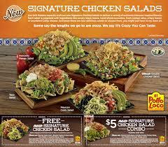 el pollo loco en salads