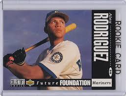 1994 sp rookie card no. Alex Rodriguez 1994 Upper Deck Cc Future Foundation Rookie Card Baseball Arod Rc Ebay