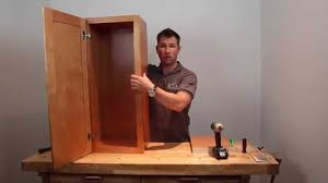 how to cabinet embly regular rta