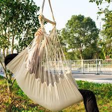 hammock chair outdoor swing hanging tree seat indoor rope camping hiking yard at