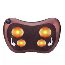 <b>Relaxation Massage Pillow Vibrator</b> Electric Shoulder Back Infrared ...