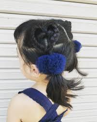 子供女の子のヘアアレンジ集ショートからロングまで簡単可愛い