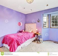 Purple And Pink Bedroom Purple Dreamy Girl Bedroom Stock Photo Image 43054248