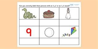 Phonics worksheets to support your child's learning and help them prepare for the year 1 phonics screening check. Ae Split Digraph Words Drone Fest