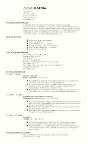 Resume Template In Spanish Delectable Resume Template In Spanish Emberskyme