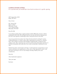 Resume Cover Letter Example General Free Resume Example And
