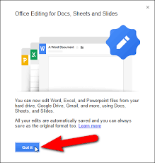 Google Docs Powerpoint How To Work With Microsoft Office Files In Google Drive