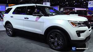 2018 ford autos. interesting autos 2018 ford explorer sport  exterior and interior walkaround debut at 2017  new york auto show and ford autos