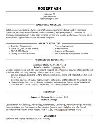 Unlike a resume, a cover letter lets you can introduce yourself to the hiring manager, provide context for your achievements and qualifications, and explain your motivation for joining the company. Warehouse Associate Resume Example Inventory Shipping Receiving