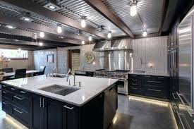 corrugated metal ceiling kitchen white cabinets quartz corrugated metal ceiling farmhouse sink cabinet affordable ideas high