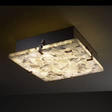 antique square flush mount ceiling light