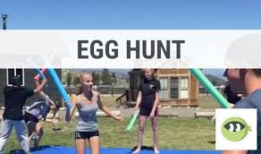 egg hunt youth group games