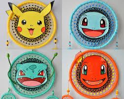 Dream Catcher Pokemon Pokemon Go Fan Gift YOUR FAVORITE POKEMON Dream Catcher Wall 19