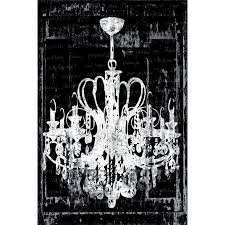 27 best class dew u images on throughout chandelier canvas wall art