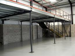 warehouse mezzanine modular office. Mezzanine Floor And Staircase Warehouse Mezzanines Installed By NSI Projects Modular Office