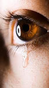 Wallpaper Tear, Sad, Eye, Eyelashes ...