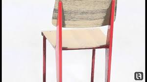 jean prouve standard chair red