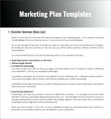 Photography Business Plan Doc Marketing Strategy Planning Template