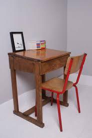 childrens wooden vintage school desk 3