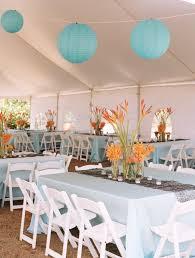 Hawaiian Themed Wedding Reception Centerpieces