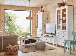 the new hemnes furniture series includes cabinets tables and shelves crafted from fresh smooth