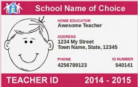 Making Home Naturally Get A Homeschool Id Card For Free For