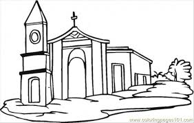 Small Picture Church Coloring Page Free Buildings Coloring Pages