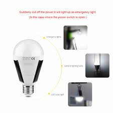 Power Outage Light Bulbs Us 7 31 5 Off Portable E27 Rechargeable Led Solar Lamp 7w 12w 85v 265v Smart Power Outages Emergency Bulb Camping Hiking Fishing Outdoor Light In