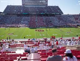 Gaylord Family Oklahoma Memorial Stadium Section 31 Seat