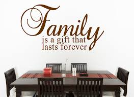 Christian Quote About Family Best of Family Is A Gift Wall Decal Quotes Christian Wall Decals Wall
