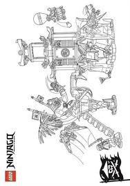 Kids N Funcom 42 Coloring Pages Of Lego Ninjago