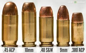 10mm Handgun Cartridge Comparison Reloading Ammo Hand