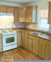 Natural Oak Kitchen Cabinets Kitchen Lighting Ideas Home Interior Design Bando Icom