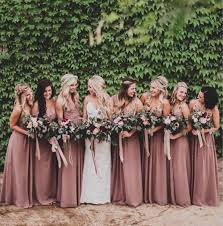 dusty rose pink bridesmaid dresses 2016 sweetheart ruched chiffon