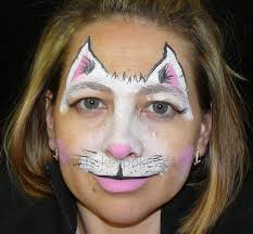 Small Picture Face Painting Design Cat Mask face painting Pinterest Face