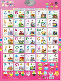 Listen to the audio pronunciation in english. Amazon Co Jp Omgdz Russian Music Alphabet Talking Poster Russian Children Educational Toys Electronic Abc Poster Educational Facts Chart Learning Alphabet Pink Generic