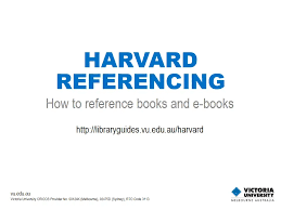 Harvard Referencing Example Essay Books E Books Harvard Referencing Library Guides At