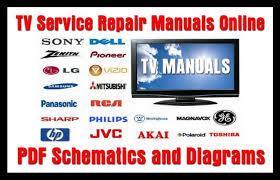 tv service repair manuals schematics and diagrams service manual download at Free Repair Diagrams