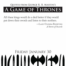 Lady Quotes Inspiration Quotes from George RR Martin's A Game of Thrones Book Series 48