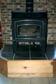 englander wood stove with site built hearth and ht insulated chimney reviews pellet stoves new 17