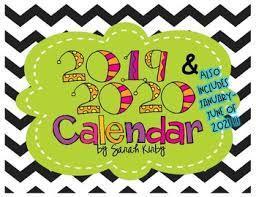 2019 2021 Editable Calendar 30 Months Pdf Version By