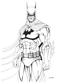 Download And Print Cool Batman Coloring