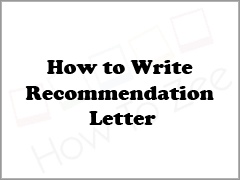 how to write an recommendation letter how to write a letter of recommendation complete guide