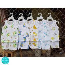 Bộ quần áo cộc tay bé trai bé gái cotton giấy mềm mịn thoáng mát Thời trang  sơ sinh cao cấp xuất khẩu Hàn Quốc giá rẻ tại Hà Nam