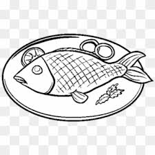 Food coloring pages are an easy way to introduce your child to foods from across the globe. Fish Food Coloring Pages Hd Png Download 640x480 6468244 Pngfind