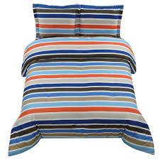 originalviews 3078 viewss 2502 alink white grey orange stripped cotton bedspread