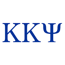 kappa kappa psi greek letter window sticker decal 10