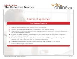 write online reflective writing writing guide resources reflective writing reflective toolbox page 5